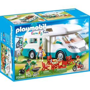 UNIVERS MINIATURE PLAYMOBIL 70088 - Family Fun - Famille et camping-