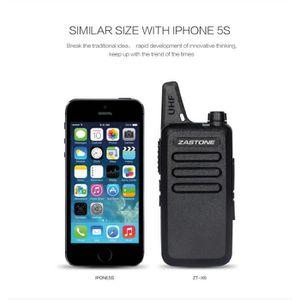 TALKIE-WALKIE JOUET 4 PS Zastone X6 talkie-walkie radio bidirectionnel