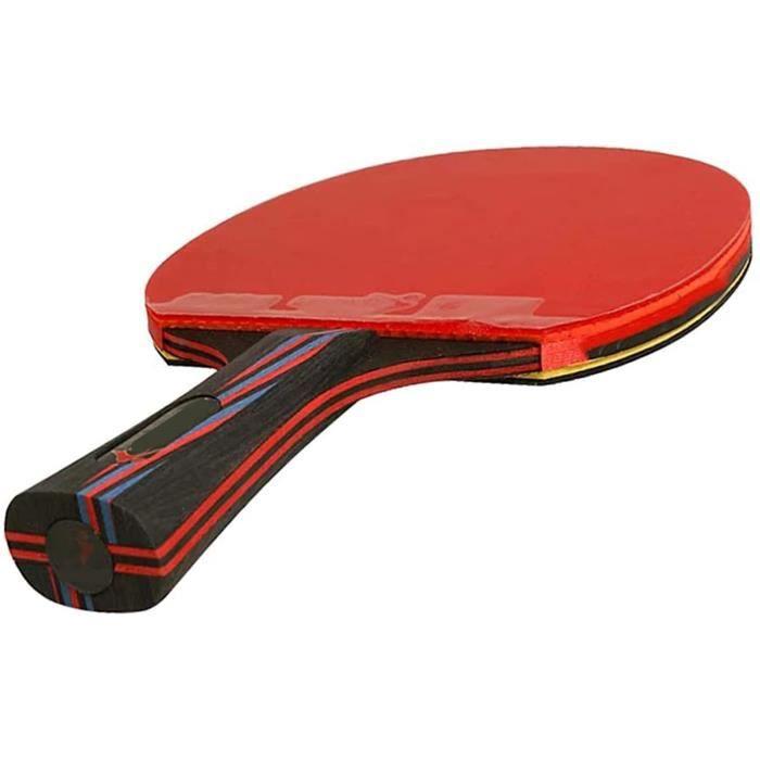 6 Étoiles De Raquette De Ping-Pong, Professionnel Nano-Carbone Tennis Tennis Sport Raquette Sport Concurrence Concurrence Avec C161