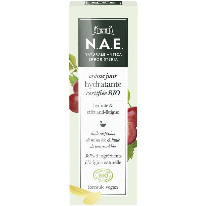 N.A.E. Crème hydratante jour Bio Crème anti-fatigue 50 ml