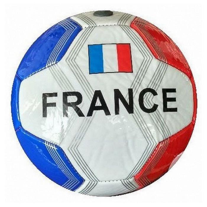 1 BALLON DE FOOT CUIR FRANCE