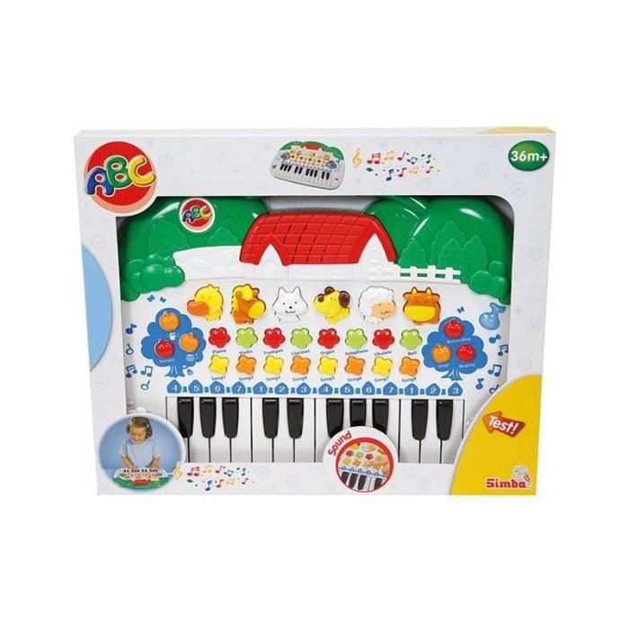 Simba Toys 104018188 Le clavier-animaux ABC