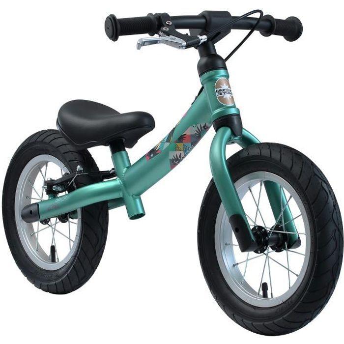 BIKESTAR - Draisienne - 12 pouces - pour enfants de 3-4 ans - Edition Sport 2-en-1 - garçons et filles - Vert