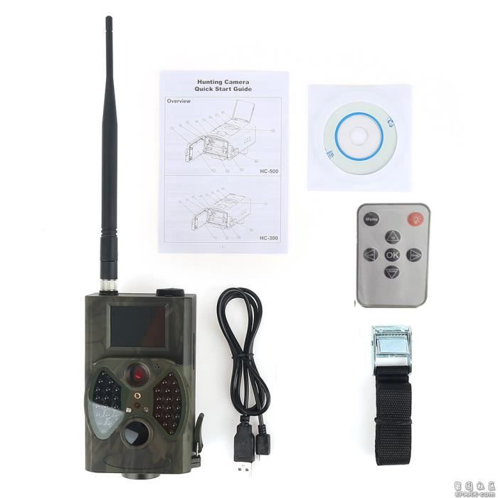 HC 300M Caméra Animaux Surveillance Campagne Observation Animaux Surveille