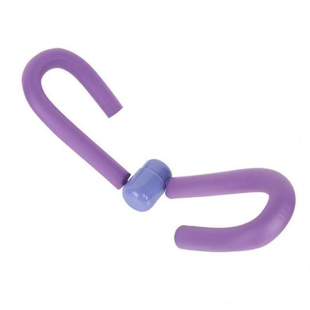 Bras, poitrine et muscles obliques, cuisses, poitrine et taille, gymnase, équipement de fitness et de fitness violet