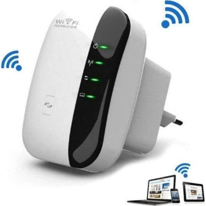 Amplificateur WiFi Repeteur Booster de signal sans fil WiFi extender 300M WLAN 802.11n-g-b C0168F