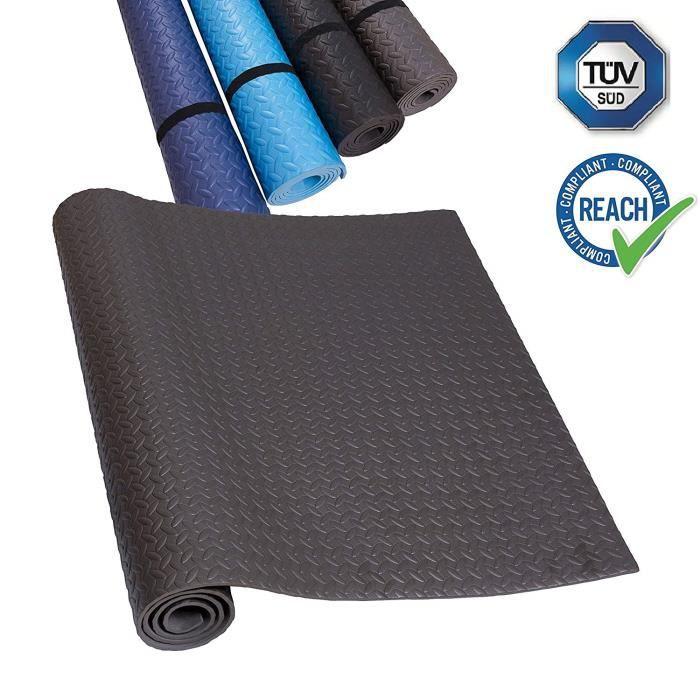 Tapis de Fitness Eva Tapis de Protection de Sol, idéal pour Les appareils de Fitness, antidérapant, Isolation Acoustique, Disponi