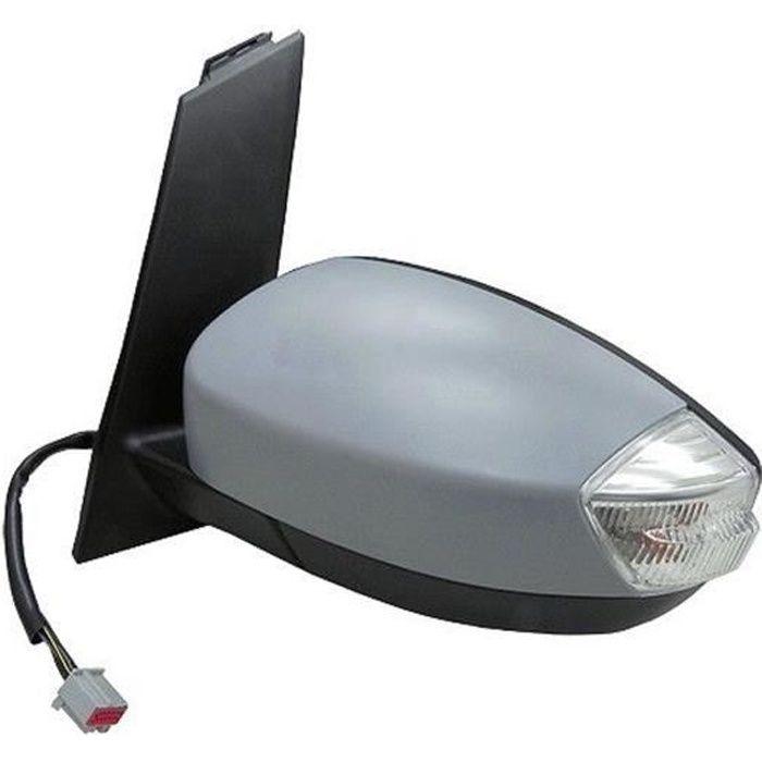 Rétroviseur Ext. apprêt gauche électrique dégivrant avec clignotant pour FORD C-MAX de 2010 à 2015