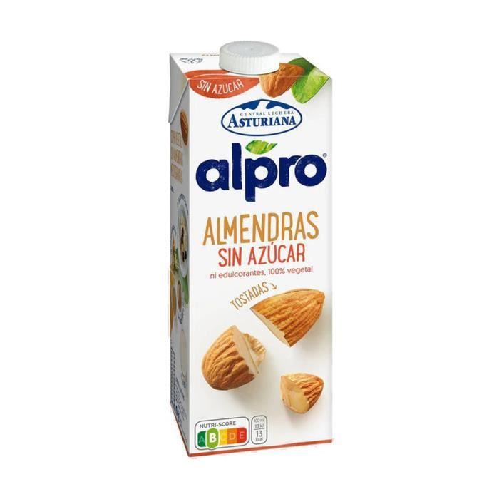 Alpro+Boisson aux amandes sans sucre 1 L