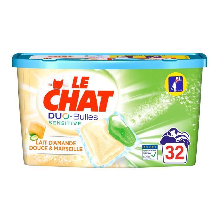 LE CHAT Sensitive Duo-Bulles - 32 doses