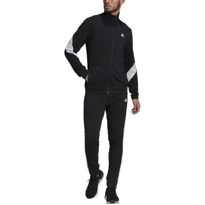 Adidas Survêtement pour Homme Sportswear Cotton Noir