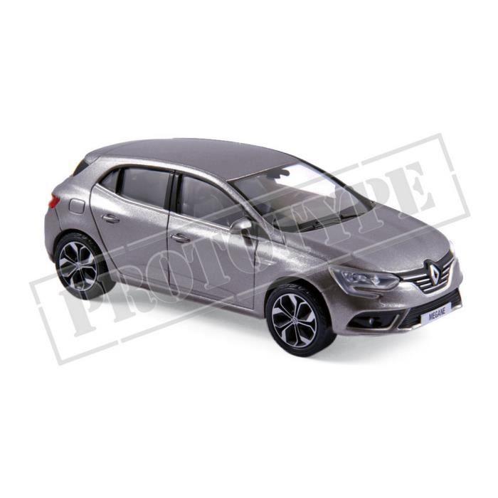 Véhicule Miniature assemble - Renault Mégane Gris titane 2016 1/43 Norev