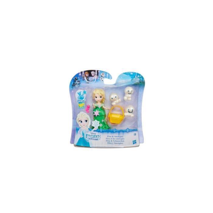 Mini Princesse : Reine Des Neiges : Elsa Et Les Snowgies - Poupee Disney Princesse