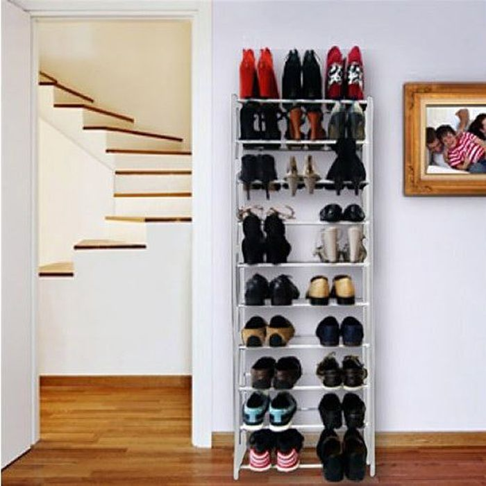 etagere chaussures 30 paires. Black Bedroom Furniture Sets. Home Design Ideas