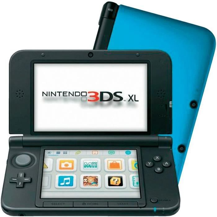 pack console nintendo 3ds xl bleue jeu 35 j achat vente console 3ds pack console. Black Bedroom Furniture Sets. Home Design Ideas