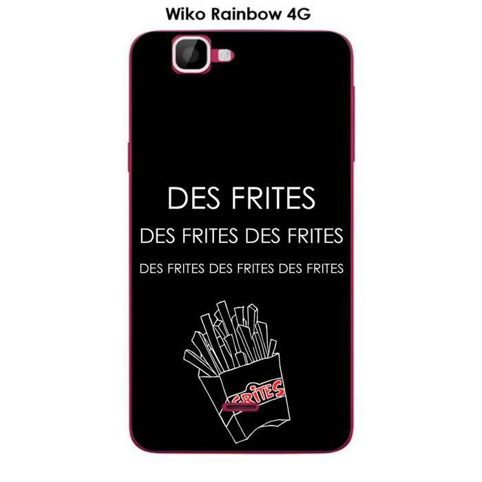 Coque Wiko Rainbow 4G design Citation