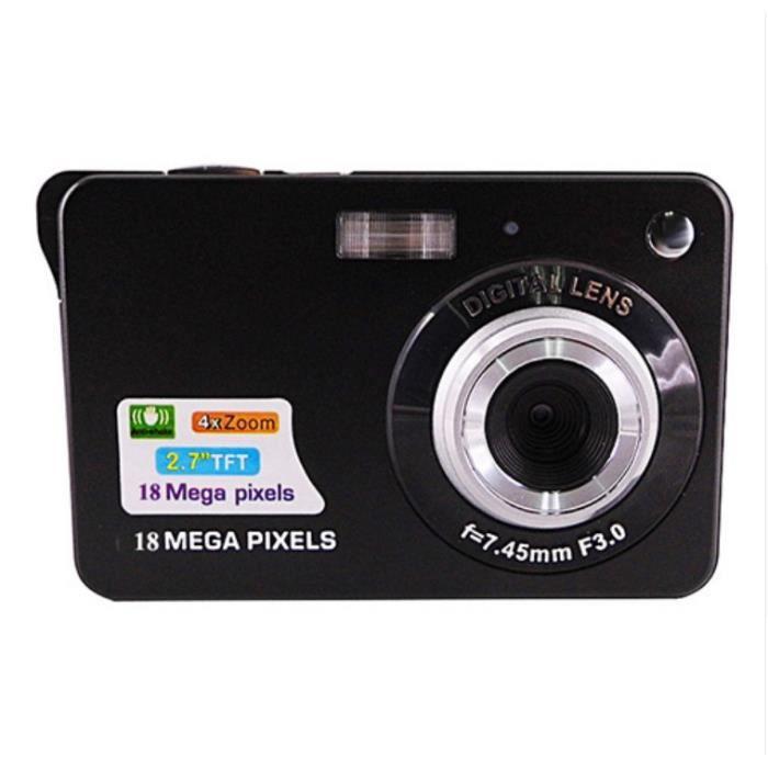 APPAREIL PHOTO RÉFLEX Caméra vidéo numérique portable 18 mégapixels 2.7