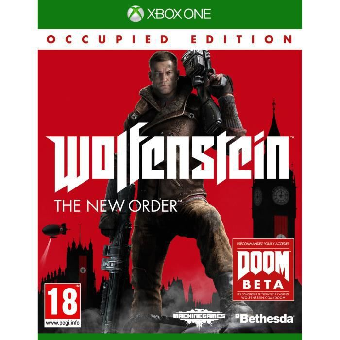 JEUX XBOX ONE Wolfenstein Edition Occupied Jeu Xbox One