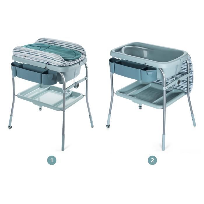 Chicco table langer combi bain change cuddle bubble - Table a langer pour salle de bain ...