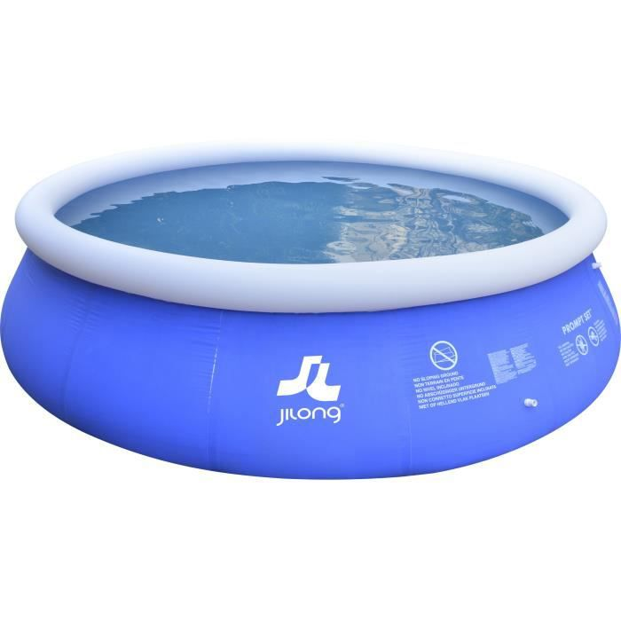 Piscine autoportante 450 x 106 cm bleue achat vente for Piscine autoportante