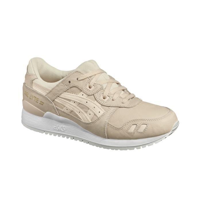 Asics Tiger Gel Lyte III W chaussures vanilla crea