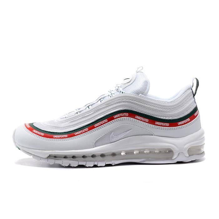 new concept fd7b1 ec482 Undefeated x Nike Air Max 97 Chaussure De Running Blanc