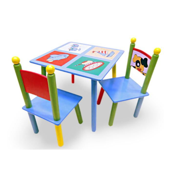ensemble table 2 chaises enfant achat vente table. Black Bedroom Furniture Sets. Home Design Ideas