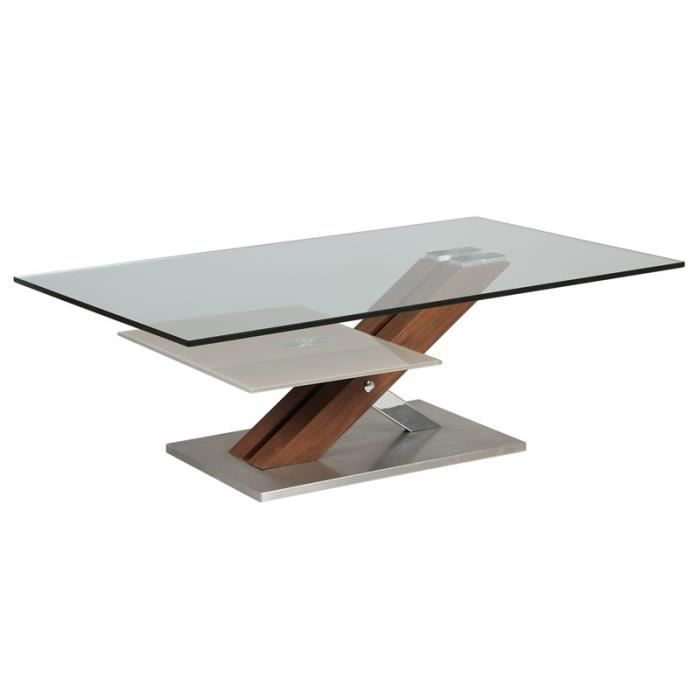 Table basse metric achat vente table basse table basse for Protection table basse en verre