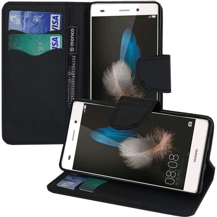 coque portefeuille huawei ale l21