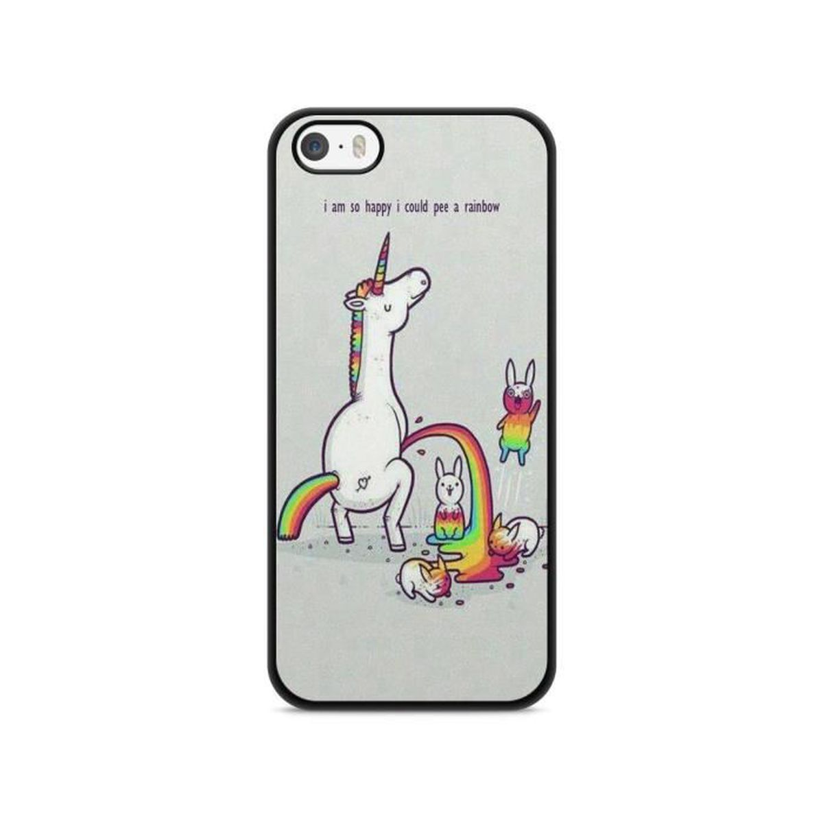 coque iphone 5 5s se licorne fashion unicorn humour hard ref13058 achat coque bumper pas. Black Bedroom Furniture Sets. Home Design Ideas
