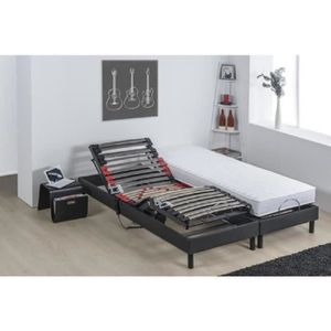 ENSEMBLE LITERIE DEKO DREAM Ensemble relaxation matelas + sommiers