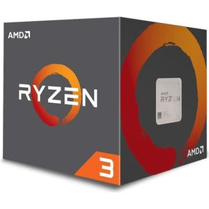 PROCESSEUR AMD Ryzen 3 1200, AMD Ryzen 3, 3,1 GHz, Socket AM4