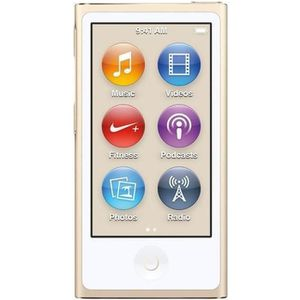 LECTEUR MP4 NEW APPLE iPod Nano 16Go Gold