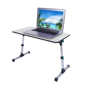 MEUBLE INFORMATIQUE Table pour ordinateur portable plateau pliant de l