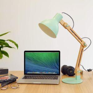 LAMPE A POSER LED Lampe de Table Lampe de Bureau Salon Design Or