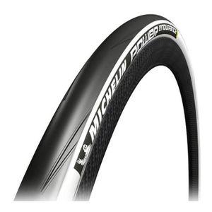 700X25C Michelin Pneu 700X25 Power Road Noir//Rouge Velo Adulte Unisexe