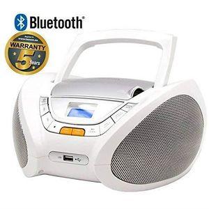 RADIO CD CASSETTE Lauson CP450 Lecteur CD Boombox Bluetooth, Radio P