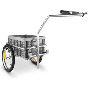 REMORQUE VÉLO DURAMAXX Bigbig Box attelage vélo ou cariole à mai