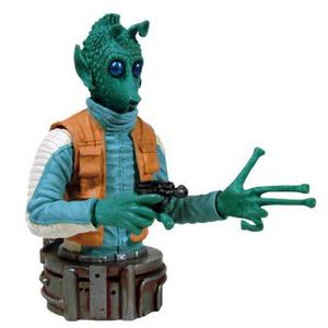 FIGURINE - PERSONNAGE STAR WARS - Bust ups - Série 6 - Buste Greedo
