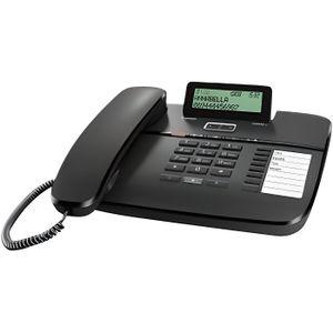 Téléphone fixe GIGASET DA810A TÉLÉPHONE FIXE NOIR