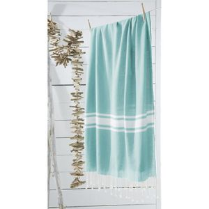 SERVIETTE DE PLAGE TODAY Fouta de plage 100% coton California Dream 1