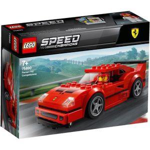 ASSEMBLAGE CONSTRUCTION LEGO® Speed Champions 75890 - Ferrari F40 Competiz