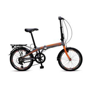 VÉLO PLIANT Umit Vélo Pliant 20 Pouces Cadre en Aluminium Frei