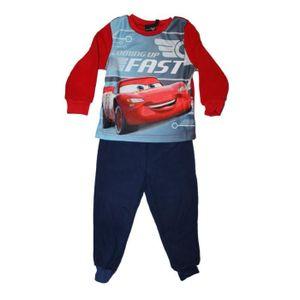PYJAMA superbe pyjama polaire cars disney rouge et bleu