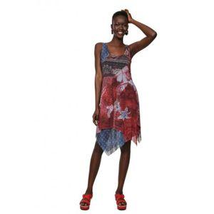 ROBE Desigual Robe femme 19SWVKAY Pequot rouge marine -