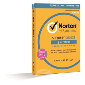 ANTIVIRUS NORTON SECURITY 2016 avec antivirus - 1 AN 3 Appar