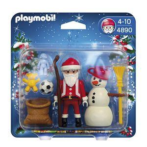 UNIVERS MINIATURE PLAYMOBIL 4890 Père Noël