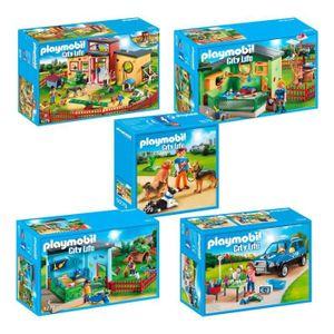 UNIVERS MINIATURE Playmobil 9275-76-77-78-79 Set City Life Soins des