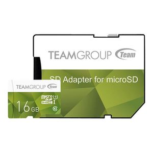 CARTE MÉMOIRE Team Color Card Carte mémoire flash (adaptateur SD