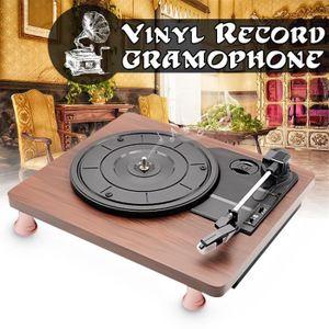 PLATINE VINYLE Platine Vinyle Tourne Disque MP3 3 Vitesses Prise